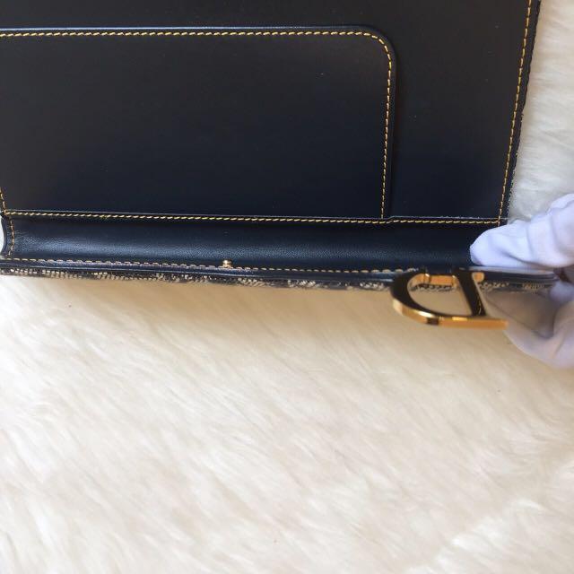 Dior obligue document holder