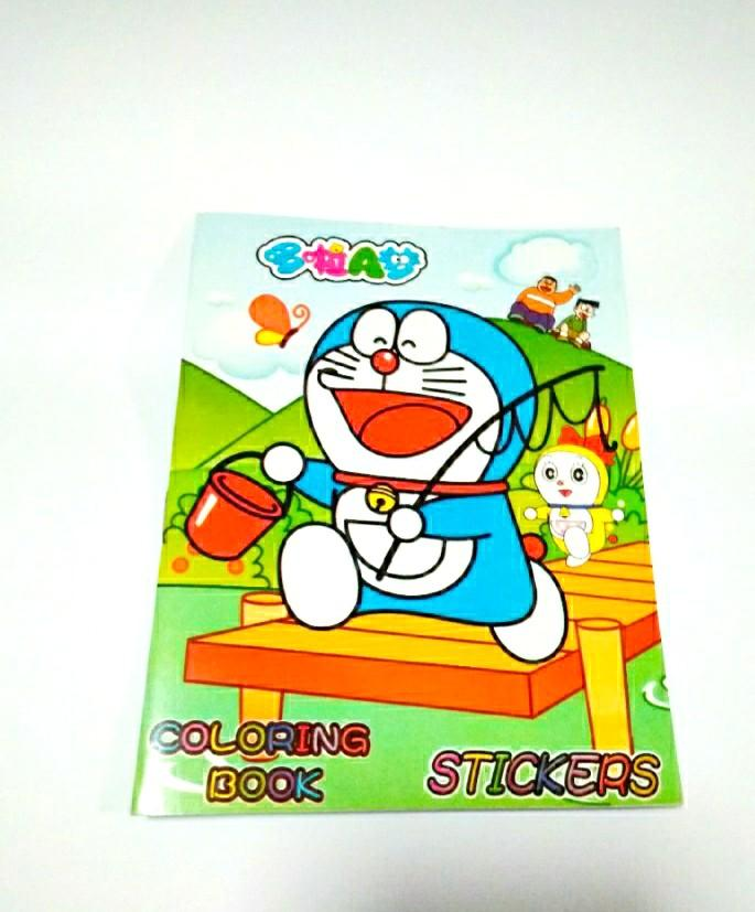 Coloring Doraemon Zoo  – Coloring Book Doraemon Kids And Adult Coloring Pages
