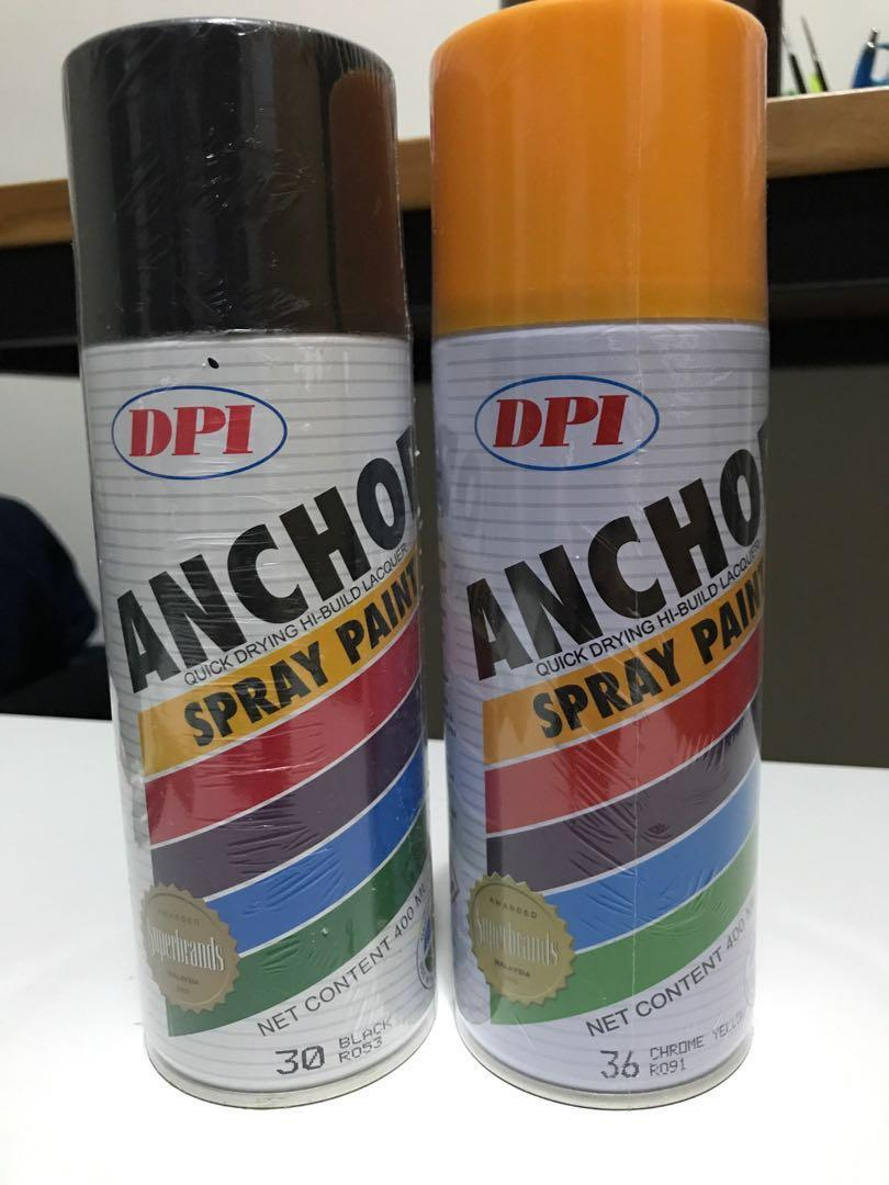 DPI Anchor Lacquer Spray Paint
