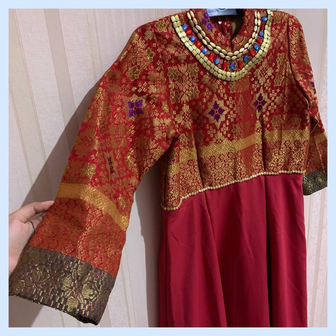 Dress Songket Palembang