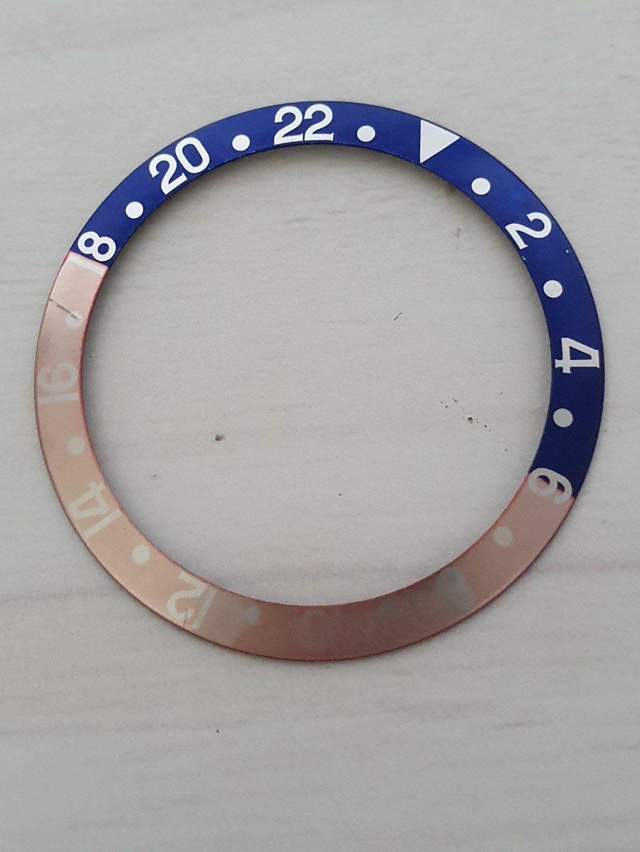 Faded Rolex 16710 16700 16760 Pepsi insert