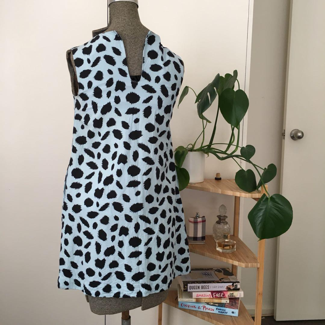 Gorman Deville Shift Dress. Size 8