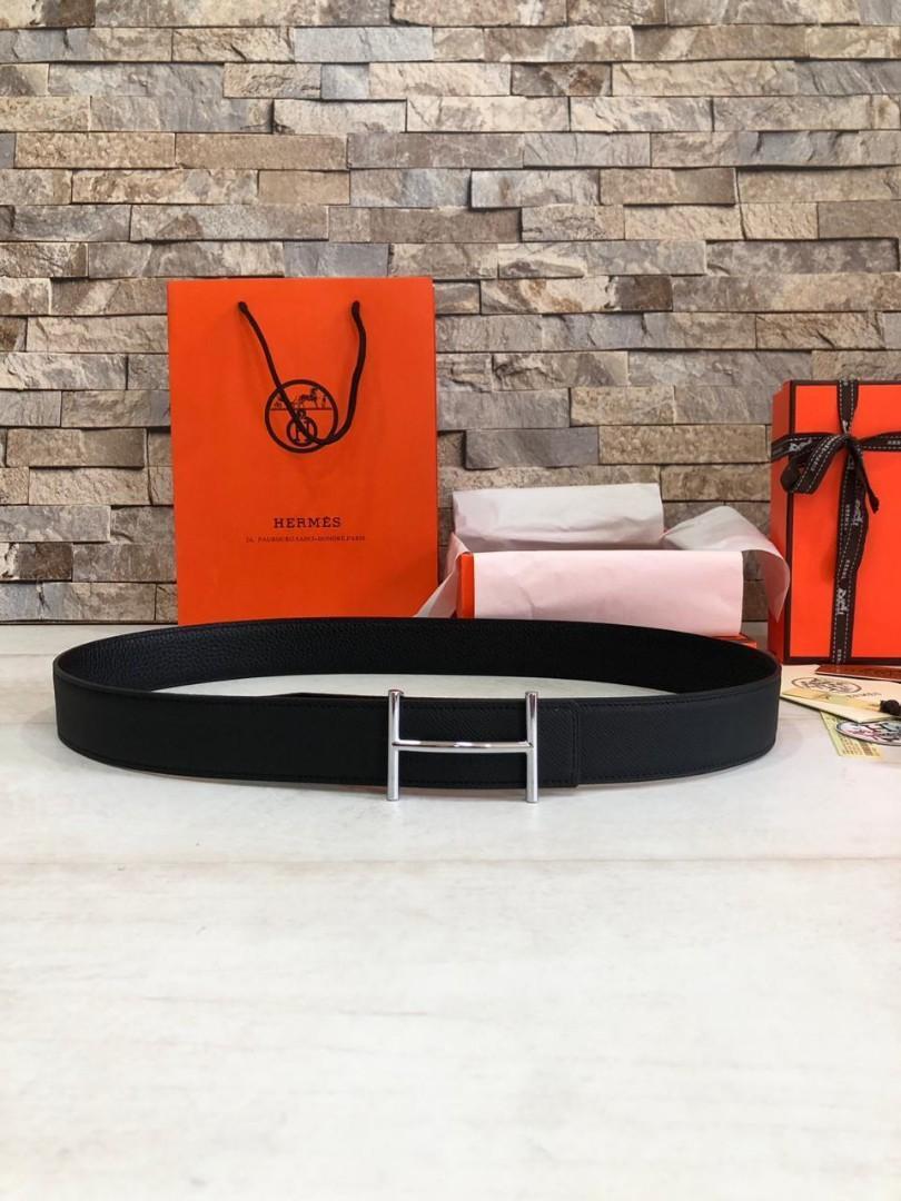 Hermes Belt   H @660rb   SUPERMIRROR, 3.5cm, 2 sisi(Bolak Balik) bisa digunakan  (Size Euro 85-110)  Berat 500g