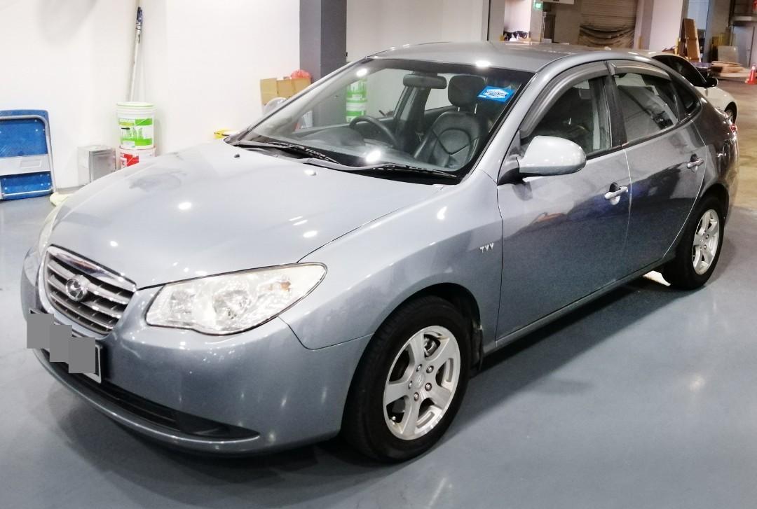 Hyundai Avante for rent till 25/7/19