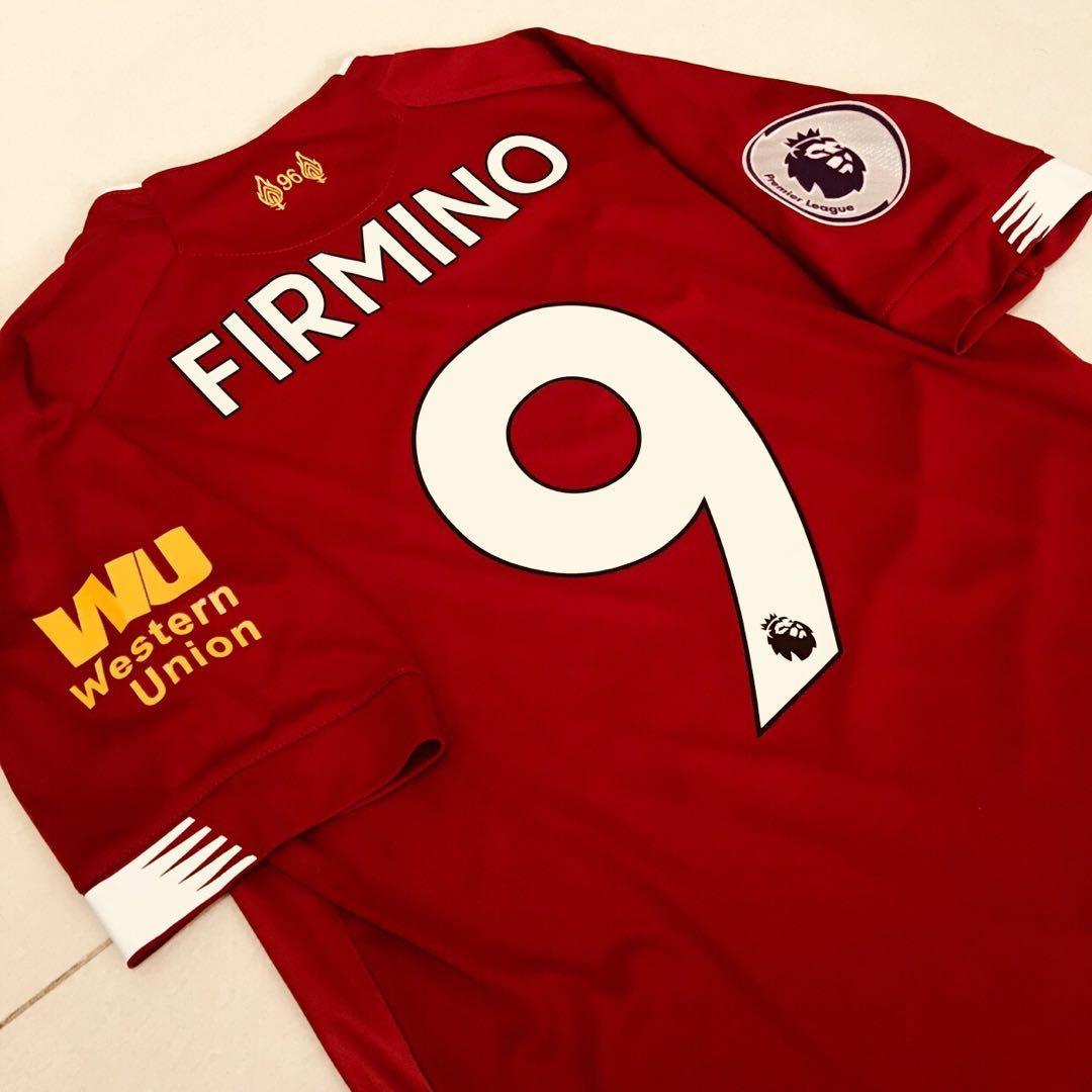 sale retailer 440ee c7c1f INSTOCK Liverpool Firmino Home kit jersey champions league ...