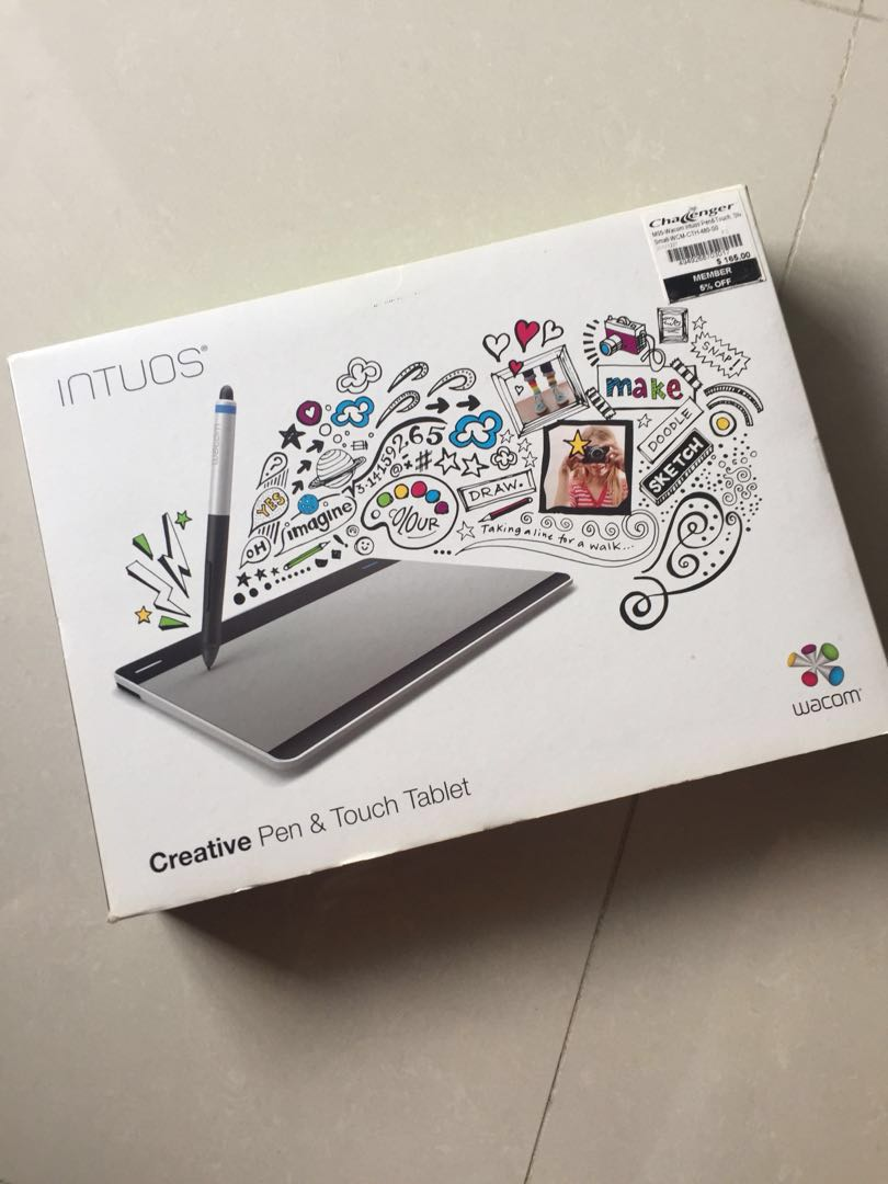 Intuos by Wacom Creative PEN & Touch Tablet, Design & Craft
