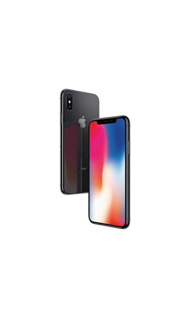 iPhone X in Black (256GB) - Original Box and Charger Inc. - NEW CONDITION