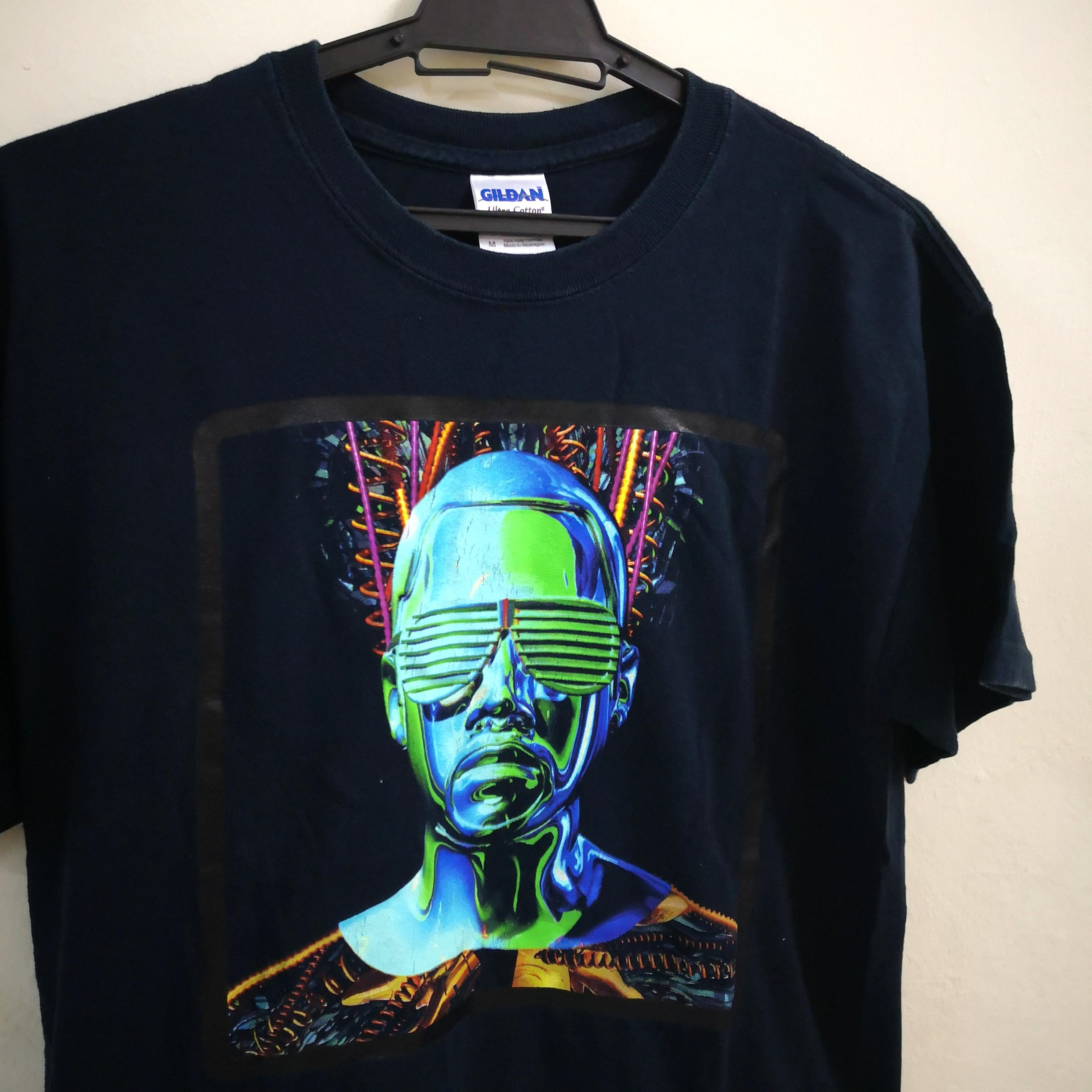 Kanye West Glow In The Dark Tour T Shirt