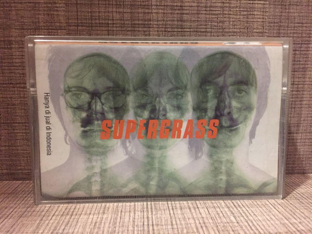 Kaset Pita Supergrass (Album: Supergrass)
