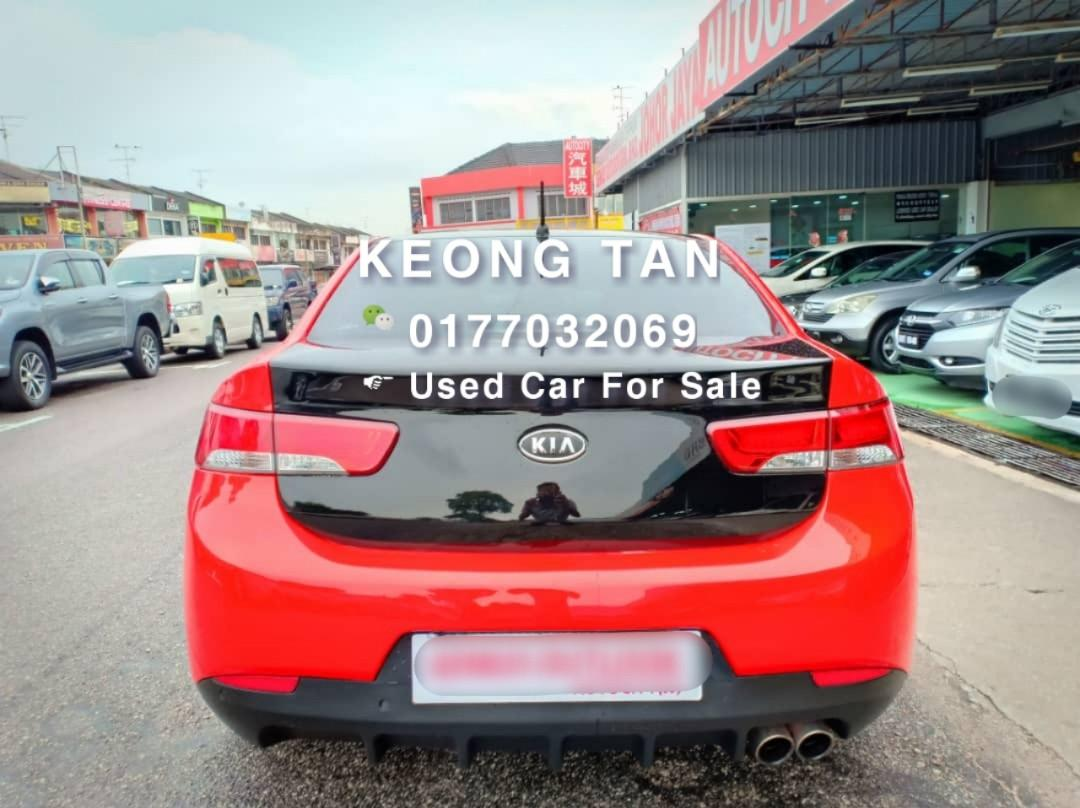 KIA FORTE KOUP SX 2.0AT TWO DOOR SportyCar 2011TH🎉SPECIAL OfferPrice🎈Rm38,800 Only💲Monthly Installment Rm496 Only🚘