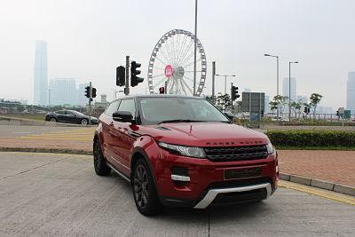 LAND ROVER EVOQUE Si4 2012