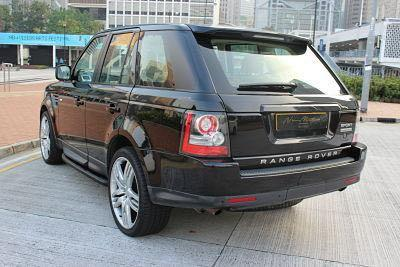 LAND ROVER RANGE ROVER 5.0 SUPERCHARGE 2010