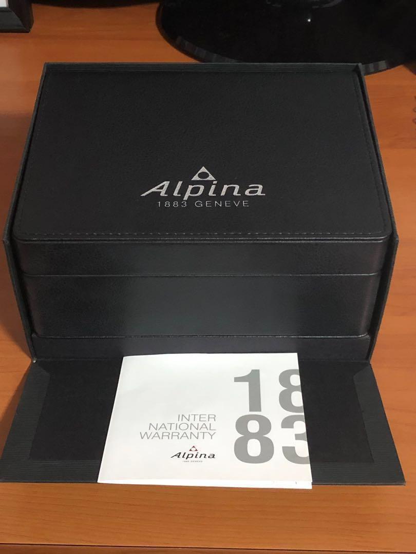 LIMITED EDITION AUTOMATIC ALPINA PILOT