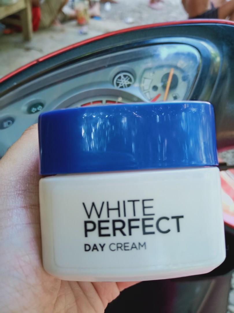 Loreal White Perfect Day Cream + facial wash loreal