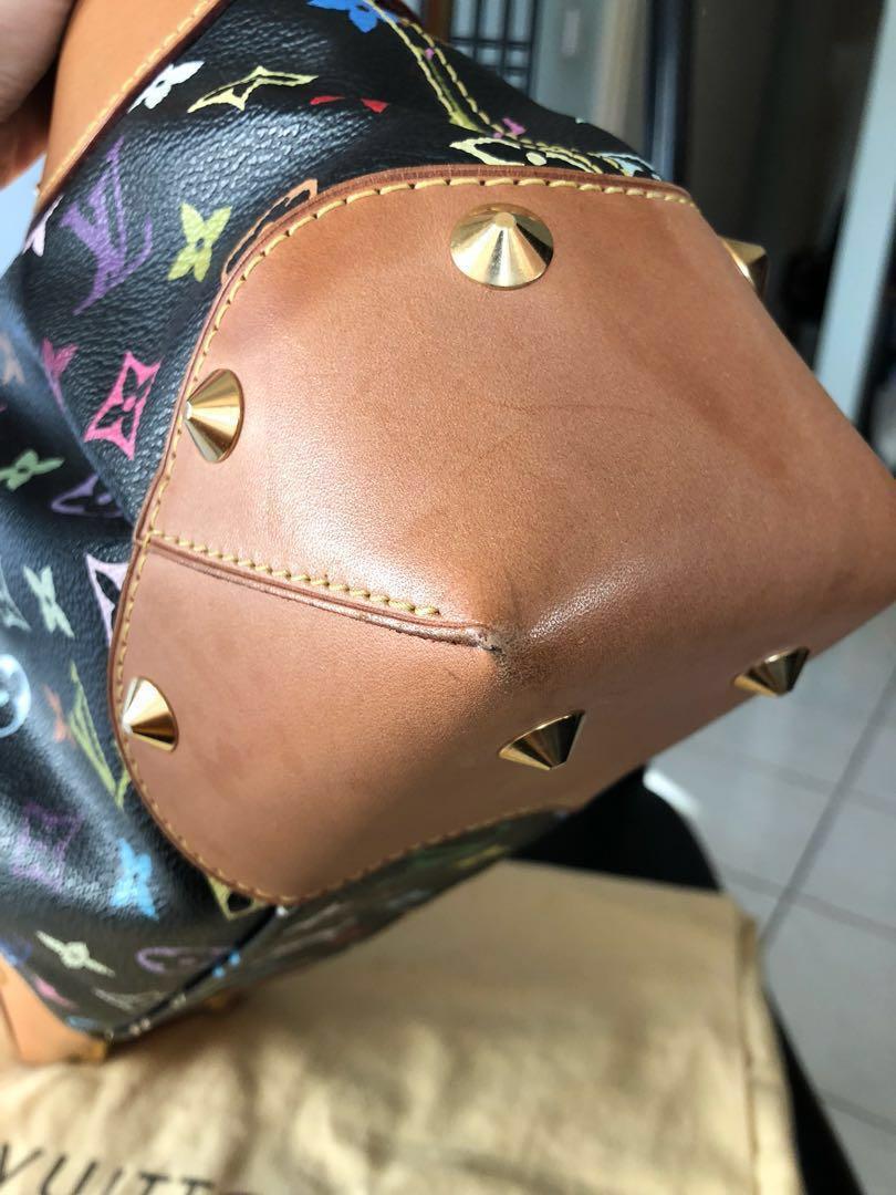 LV Black Mono Multicolore MM bag
