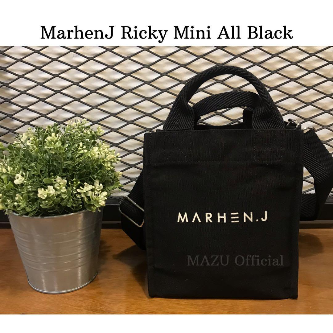 Marhenj ricky mini all black brand new original