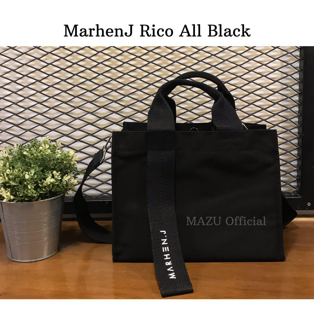 MarhenJ rico all black brand new ready stock