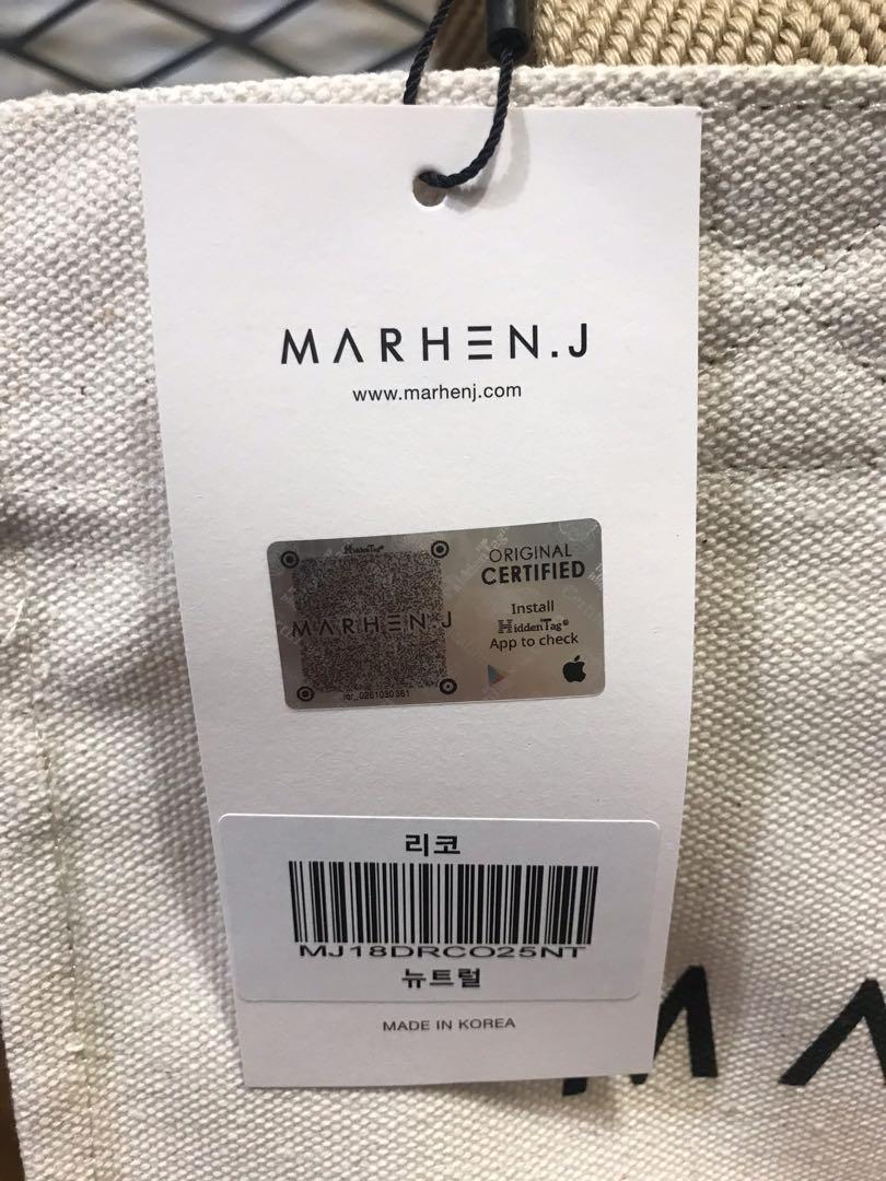 Marhenj rico bag neutral ori korea