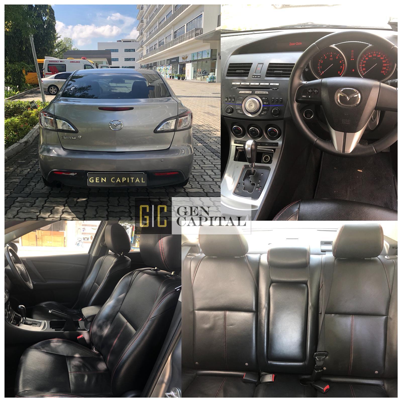 Mazda 3 Luxury 1.6A Grab Gojek Ryde Tada & Non PHV Car Rental Services in Singapore!