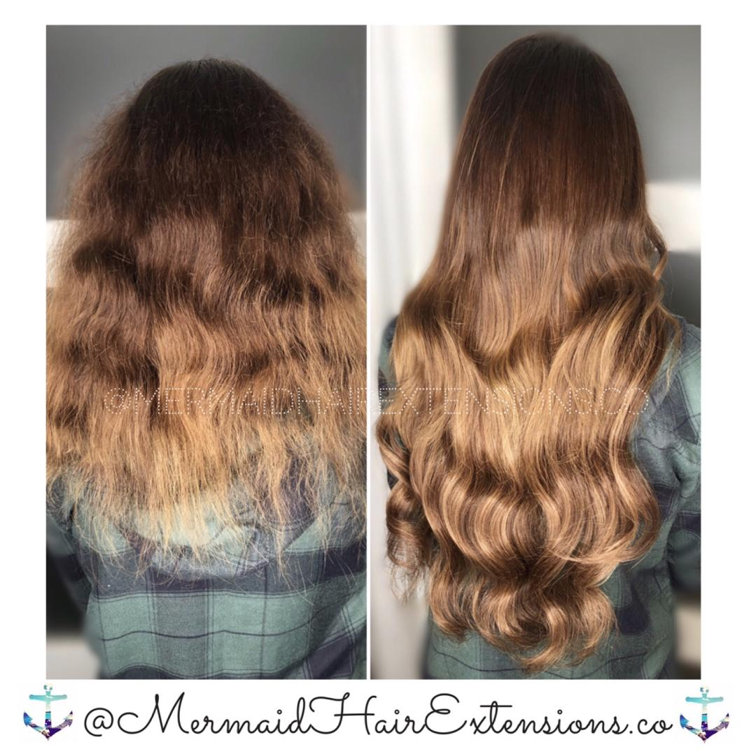 ✨MERMAID HAIR EXTENSIONS✨PREMIUM QUALITY | TRUSTED SERVICES✨