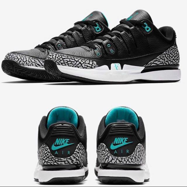 Jordan x Nike Tennis Air Zoom Vapor RF X AJ3 Atmos x Nike x