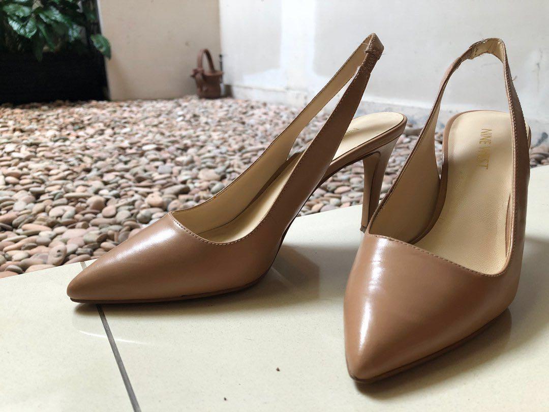 Nine West Nude Heels