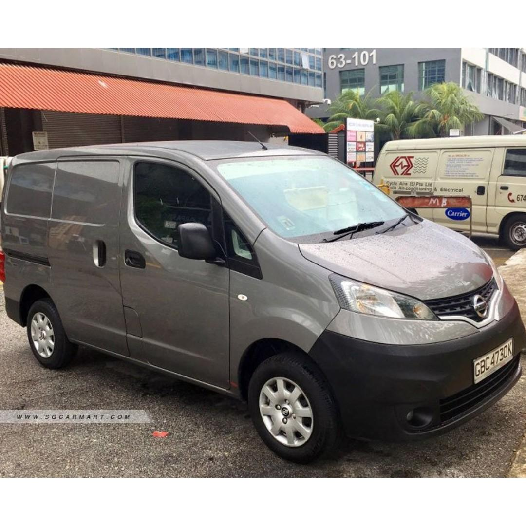 NISSAN NV200 RENTAL SGD1,150 ONLY (MIN 6 MONTHS) lucky van