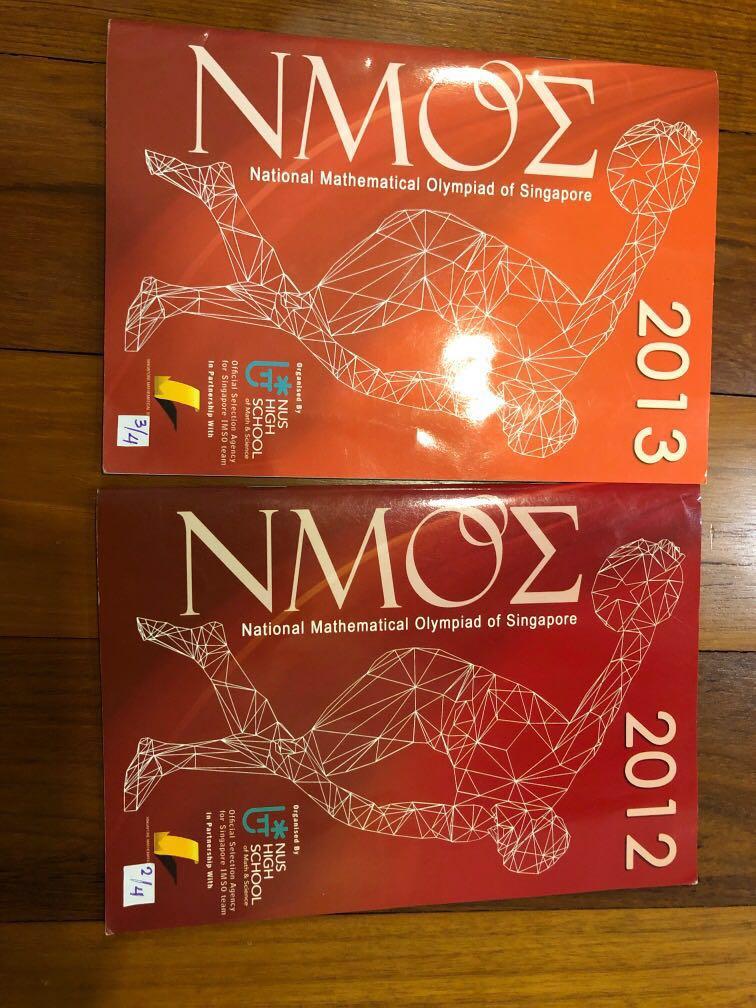 NMOS Math Olympiad Book, Books & Stationery, Textbooks