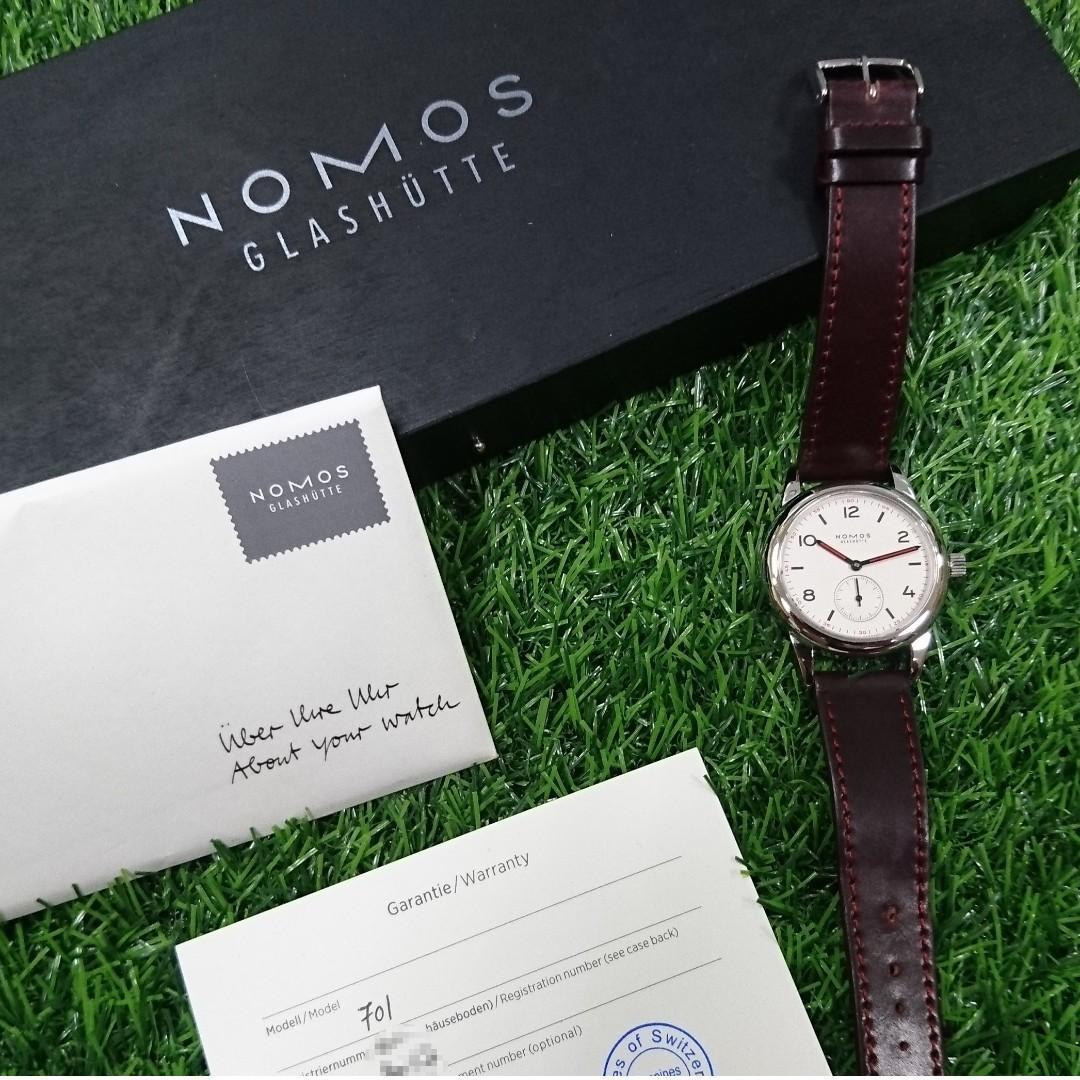 NOMOS Glashütte Club 701 - Not for Sinn Tag Heuer Rolex Tudor Hamilton Omega Panerai Breitling IWC Seiko