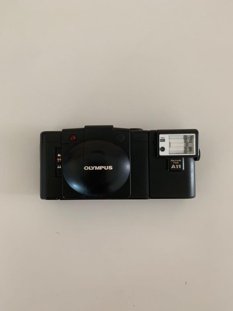Olympus XA2 Film Camera with A11 Flash