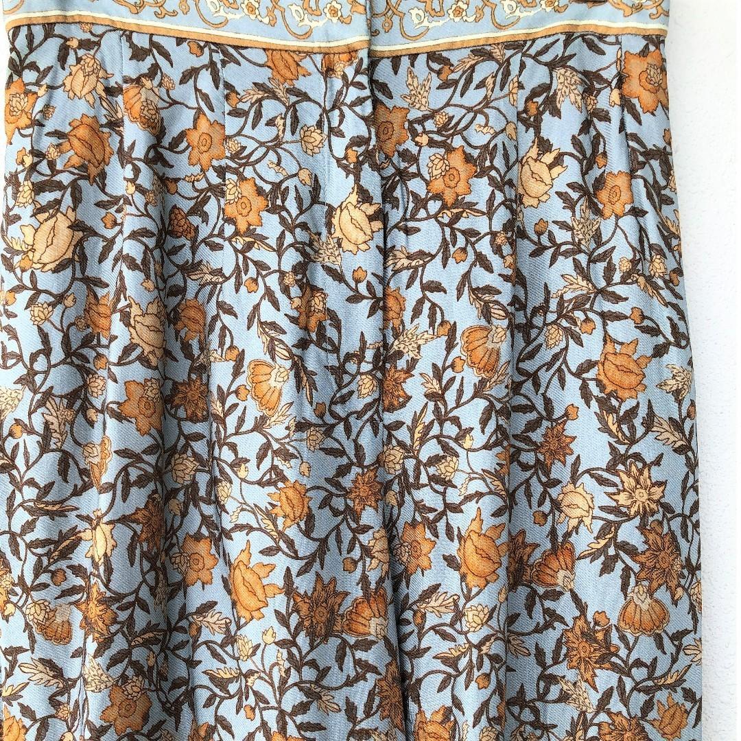 (ONE SET) H&M SUMMER EDIT FLORAL PRINT PANTS