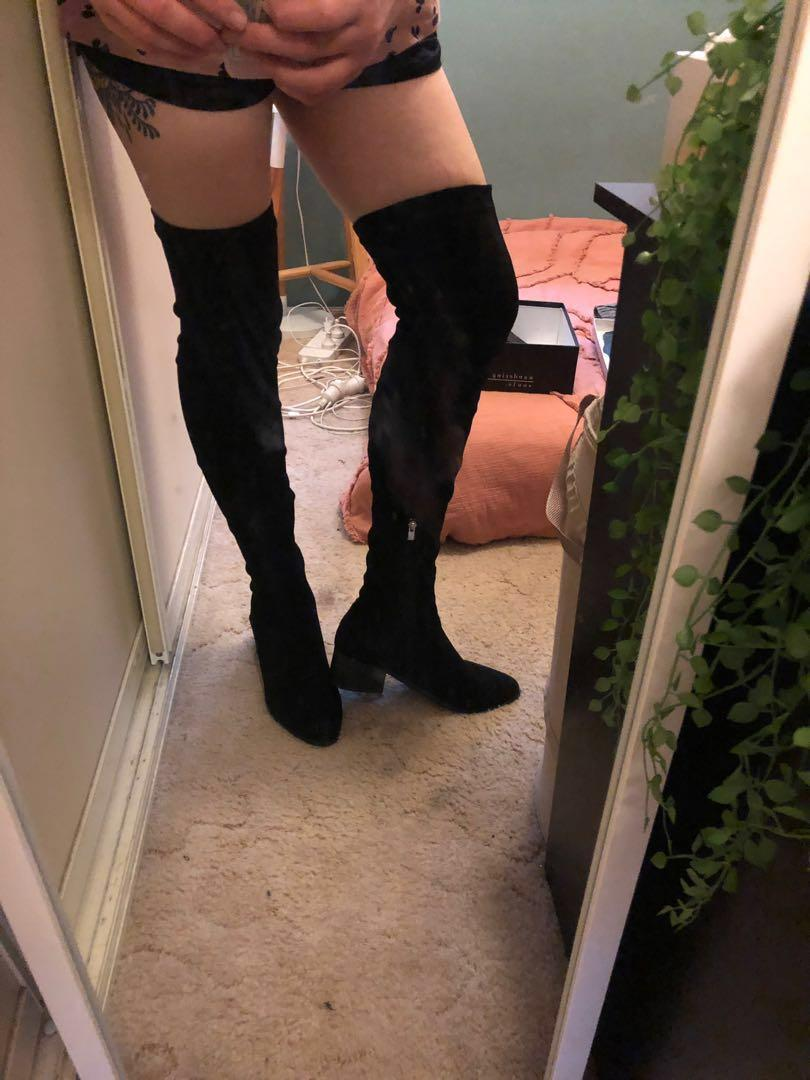 Over The Knee Boots size 11