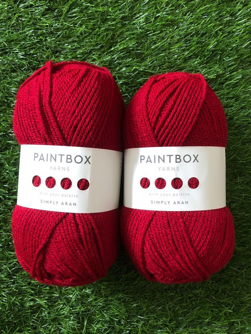 Paintbox Yarns Simply Aran - Wine Red