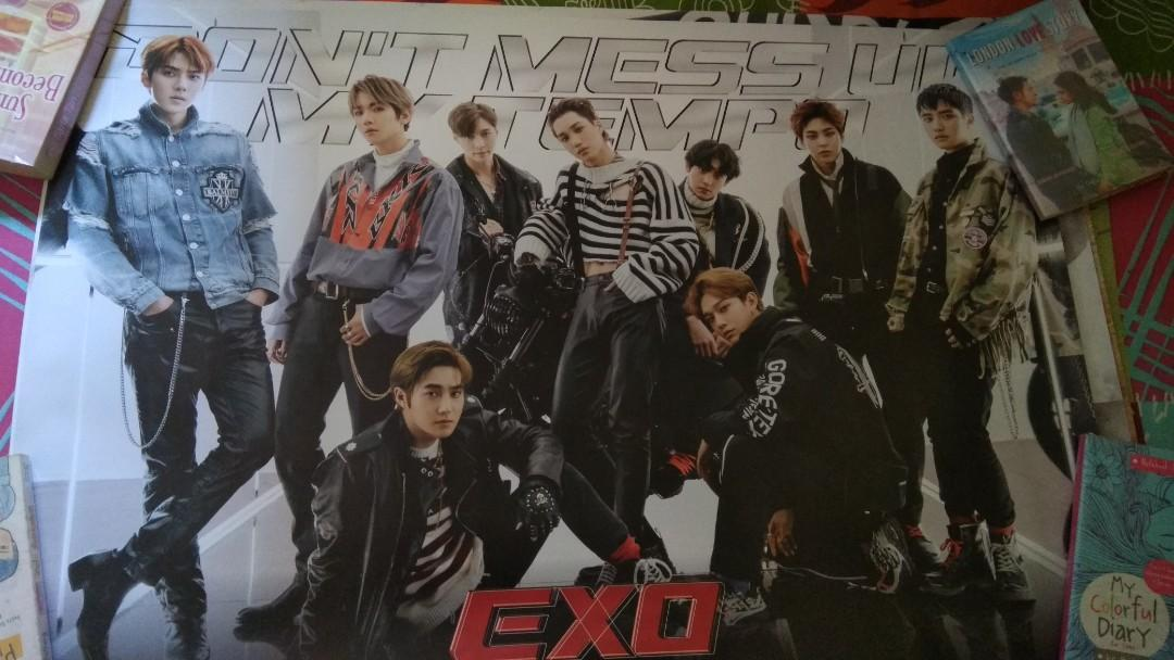 Poster Don't Mess Up My Tempo (DMUMT) Vivace ver. Grup