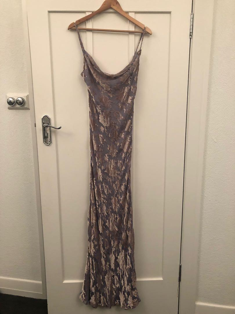 Rat & Boa Athena Silk Sheer Gown Dress Rare SOLD OUT style Size M