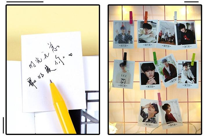 READY STOCK 45pcs BTS lomo card in box Bookmark Planner Kpop Kwave