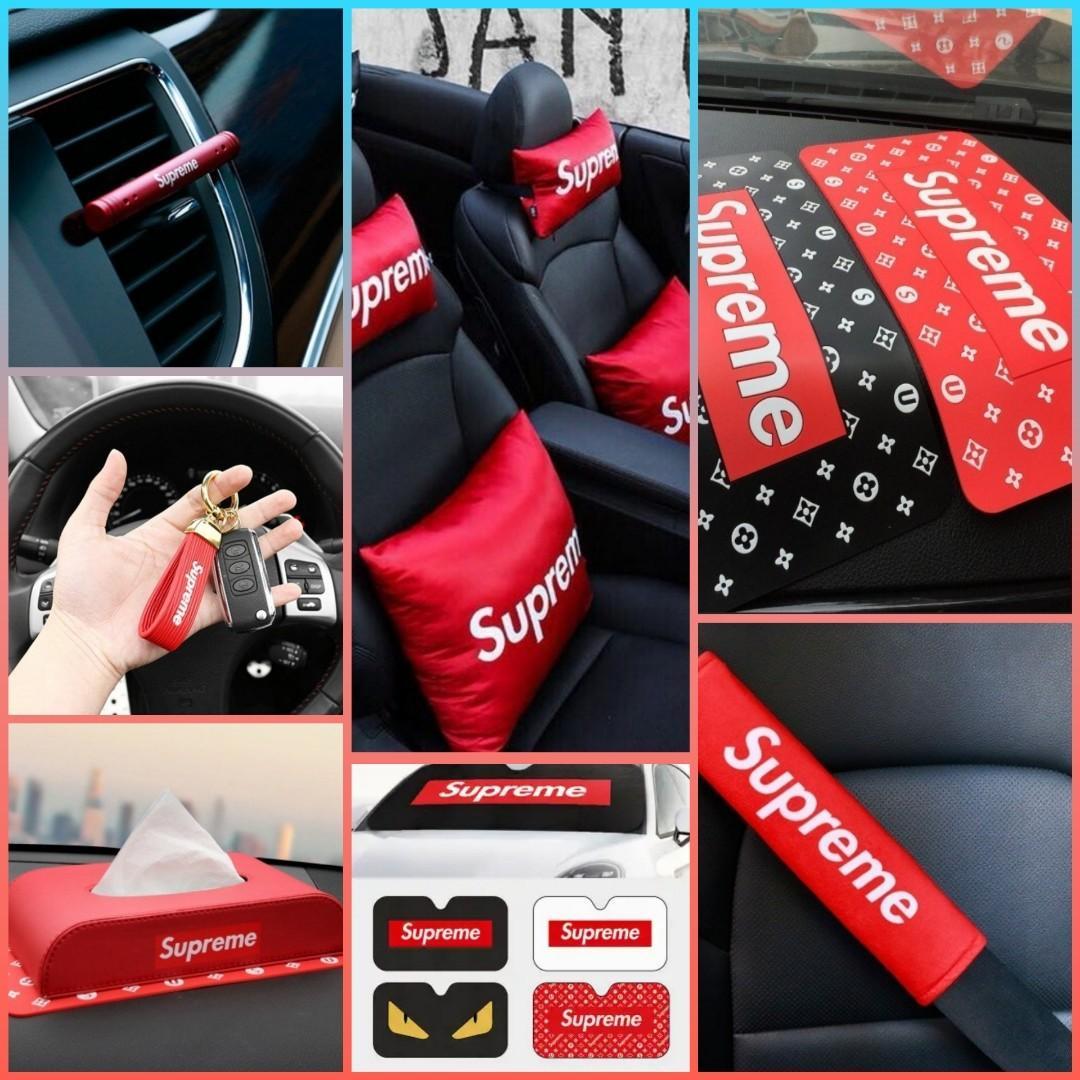 Supreme Pillows / Supreme Cushion / Supreme Seatbelt Cover