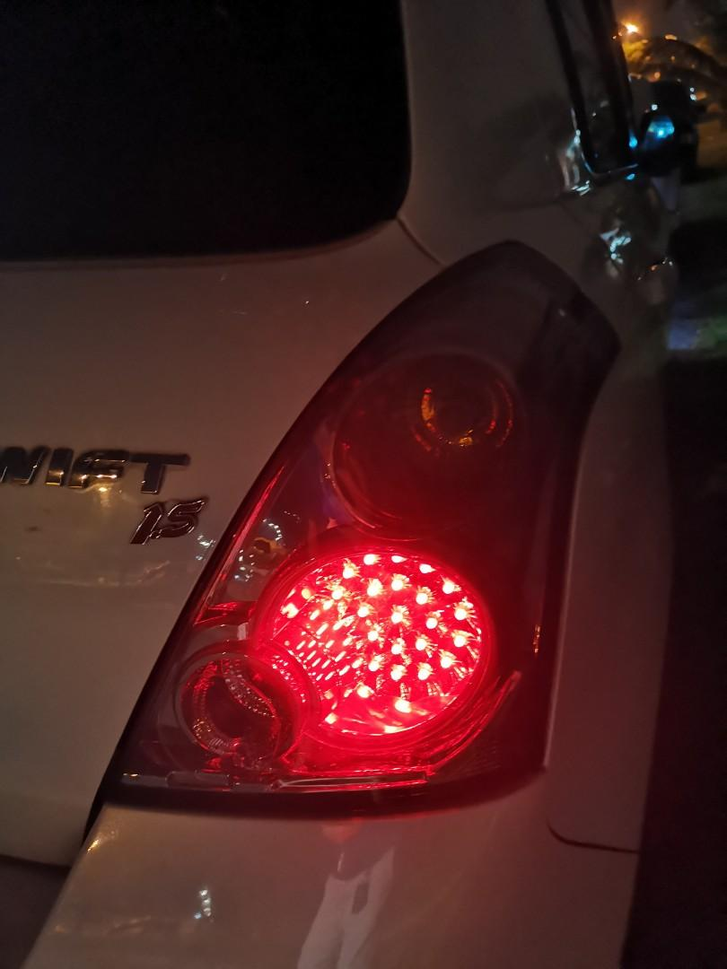 Suzuki swift rearlamp