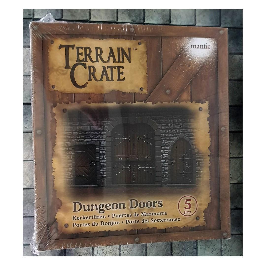 Terrain Crate : Dungeon Doors - Dungeons & Dragons