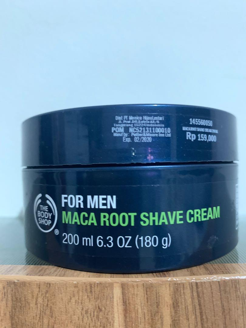 The body shop shaving cream