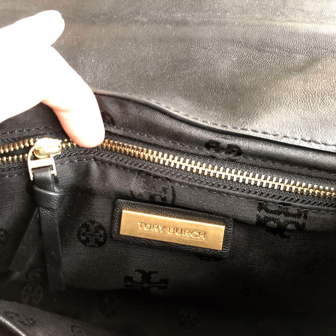 Tory Burch Fleming Medium Bag Black