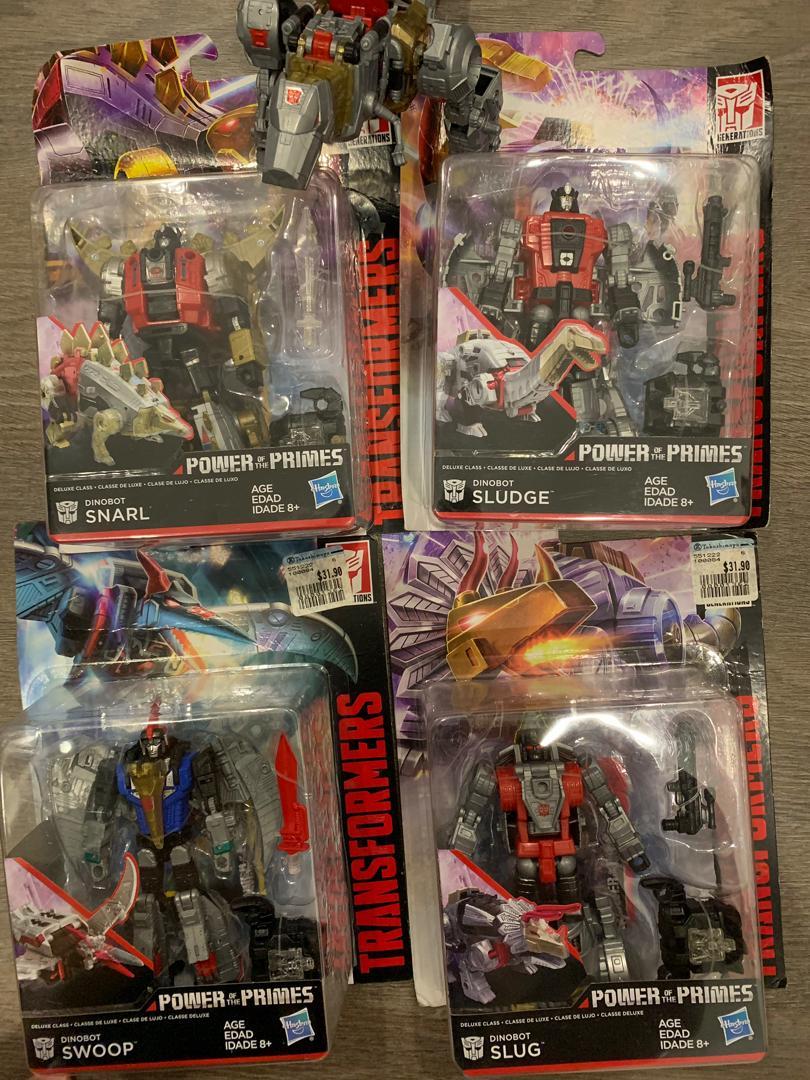 Generations Power of the Primes Deluxe Sludge Dinobot ACTION FIGURE (NO BOX)