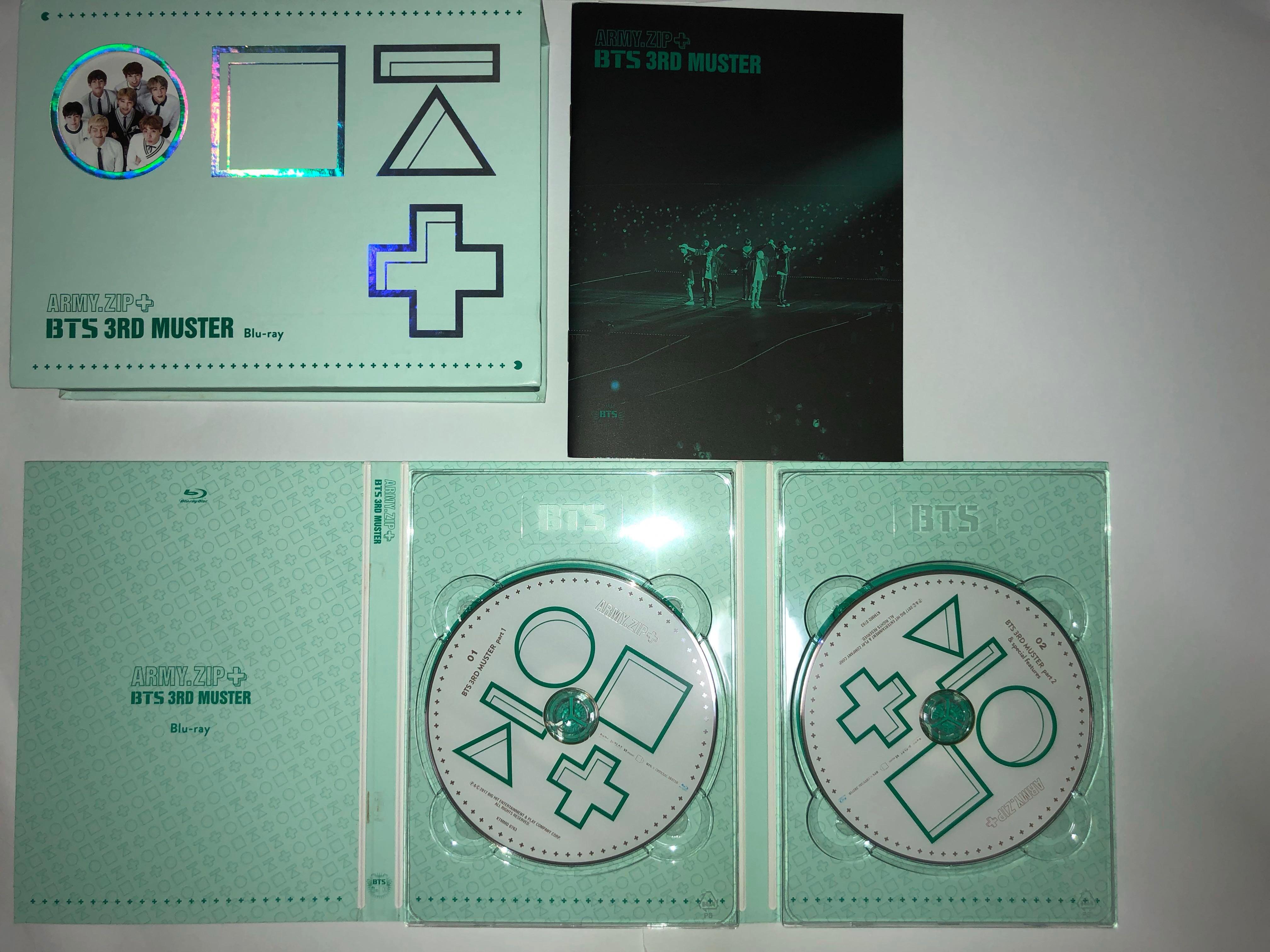 [URGENT WTS] BTS 3RD MUSTER DVD BLU-RAY