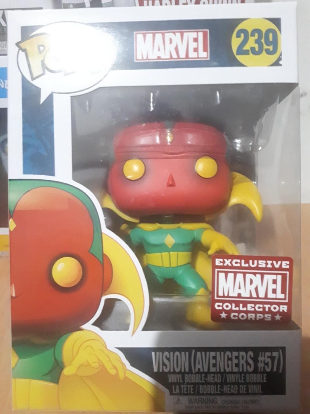 Vision first appearance exclusive