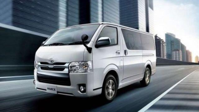 New Hiace Van for $1100
