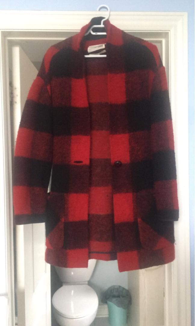 Wilfred wool jacket