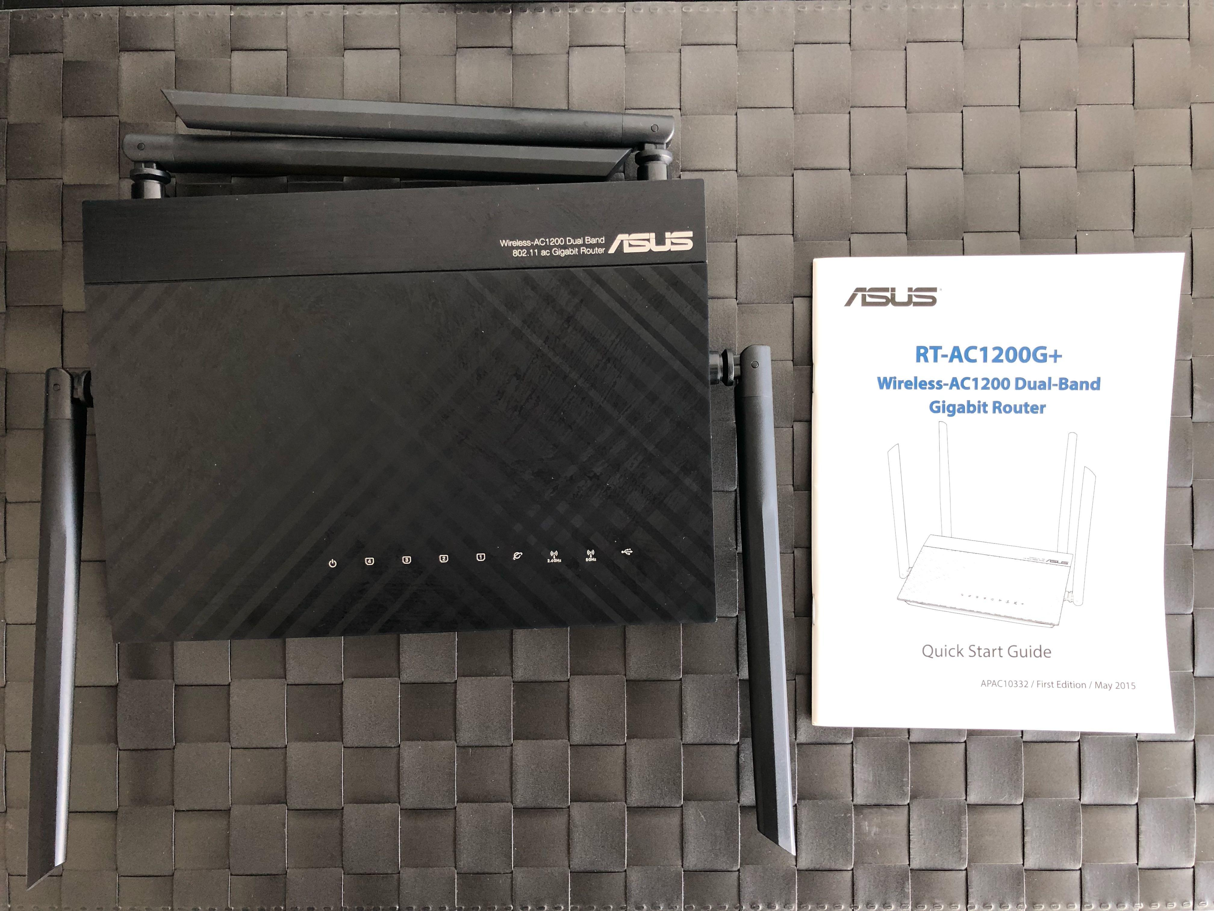 Wireless AC 1200 Dual Band Gigabit Router
