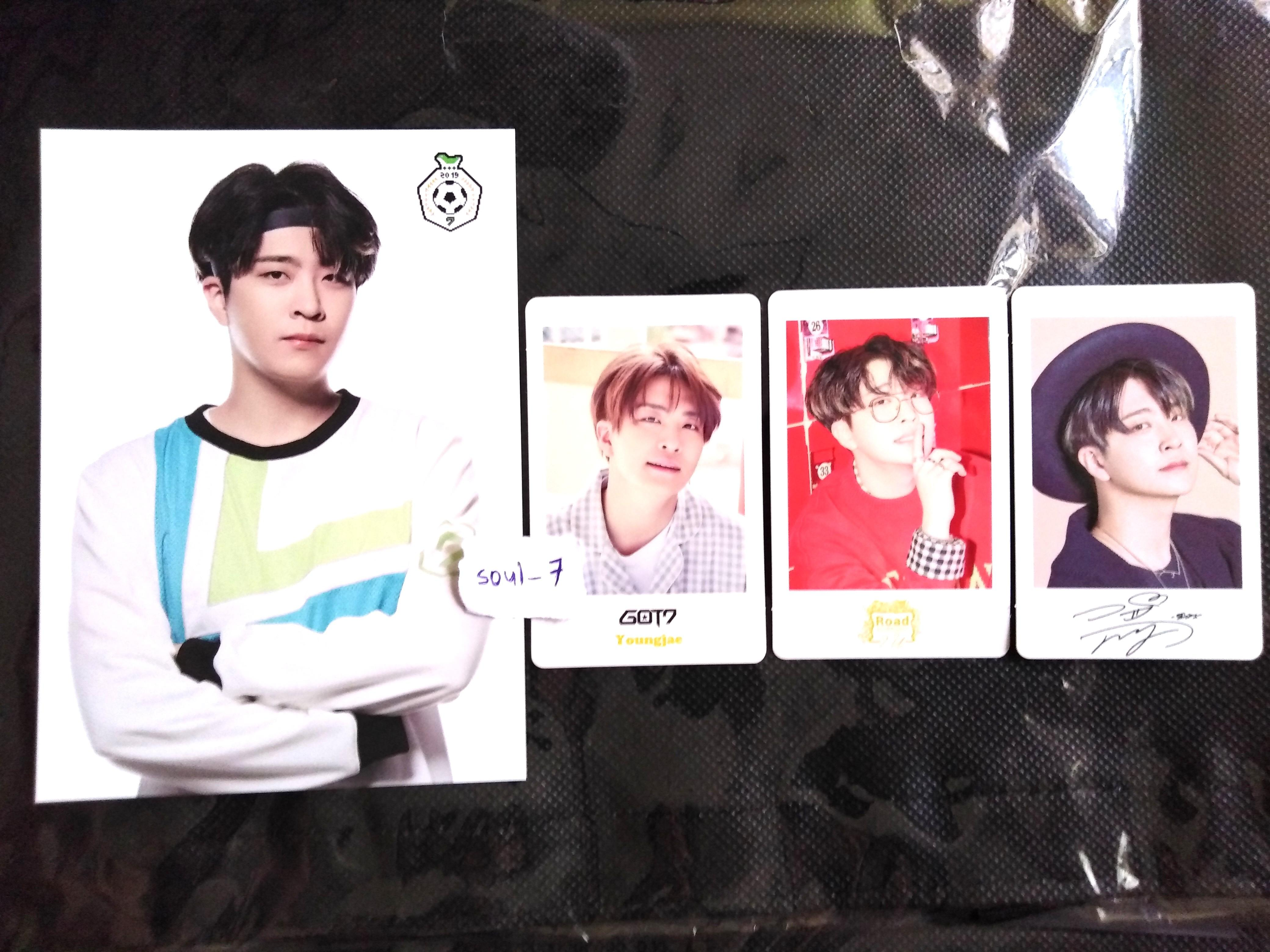 [WTS] GOT7 OFFICIAL POSTCARD & PHOTOCARD SET (MARK YOUNGJAE BAMBAM YUGYEOM)