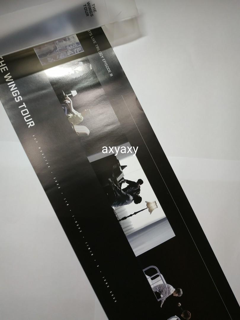 [WTS] Poster BTS Live Trilogy Episode III The Wings Tour in Seoul