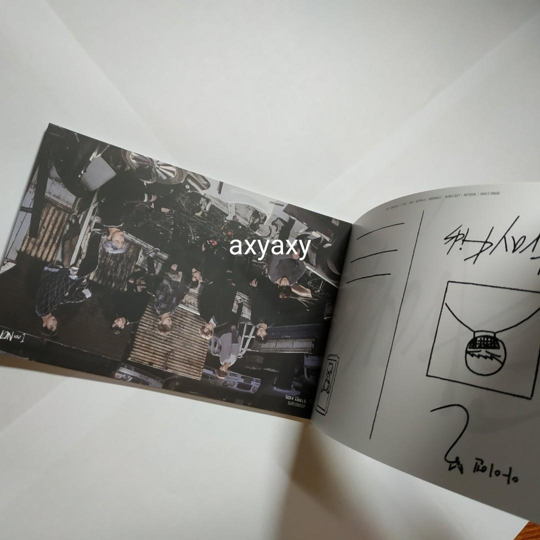[WTS] Stray Kids Album Postcard Preorder Benefits I am Not and I am Who